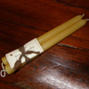 9-inch Beeswax Tapers (One Pair)